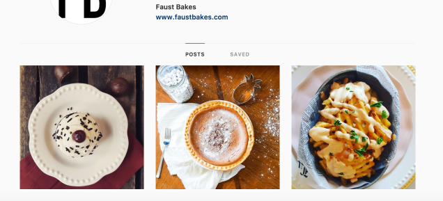 Follow Faust Bakes on Instagram!