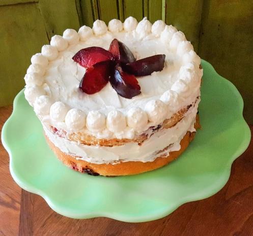 Phat Thai Jones' Plum Cake #psych #faustbakes