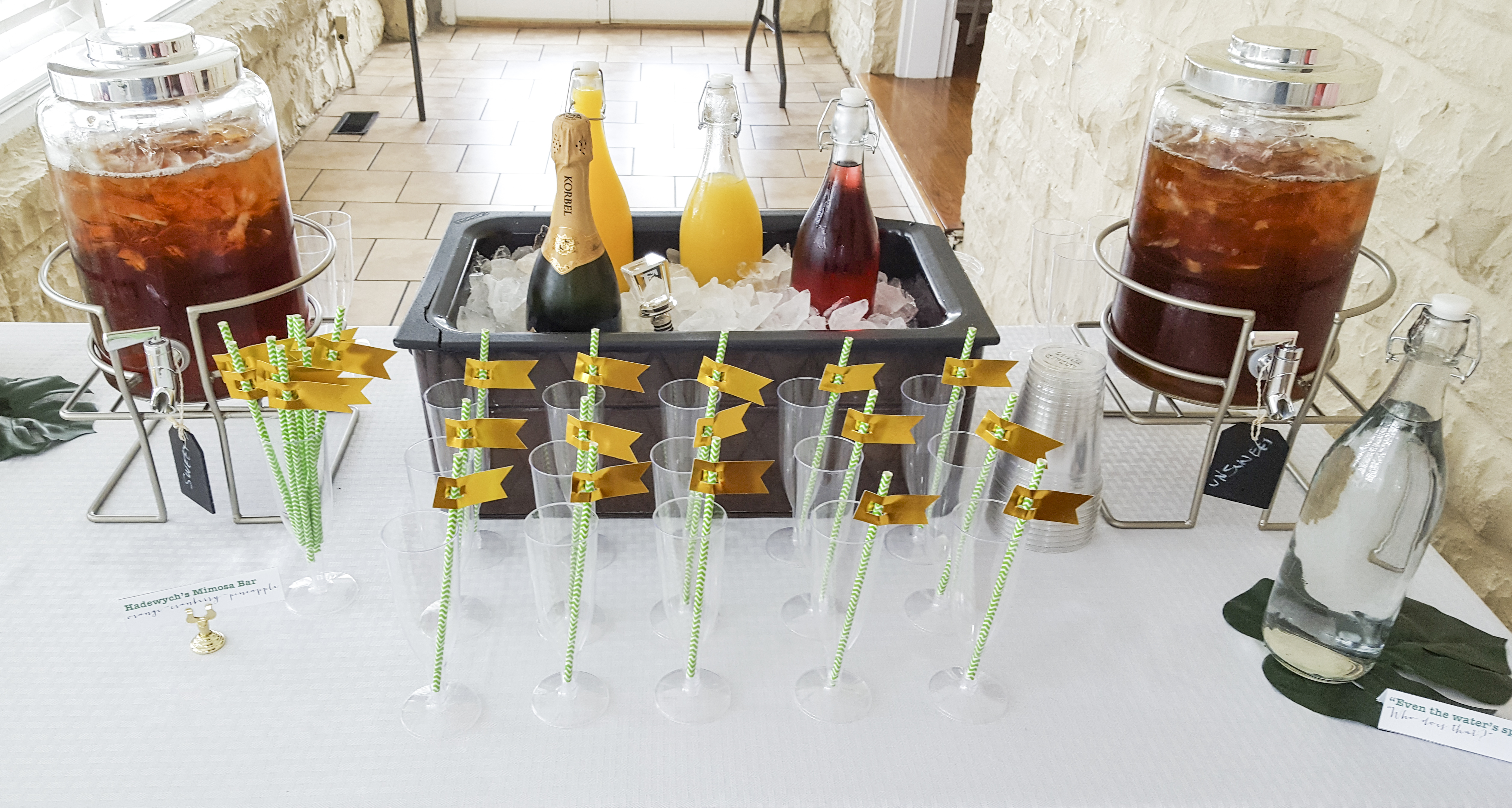 Psych Mimosa Bar