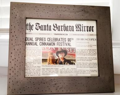 Santa Barbara Mirror #faustbakes