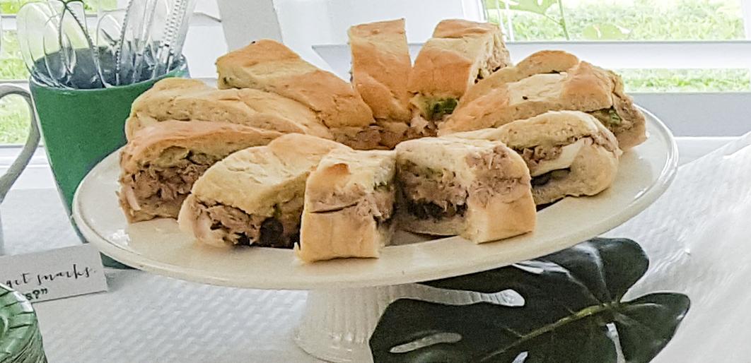 tuna nicoise sandwich #faustbakes