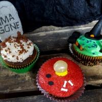 How-To: 3 Easy Ways to Decorate Halloween Cupcakes