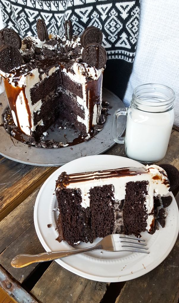 Death by Oreo Cake! Holy Cow! #faustbakes