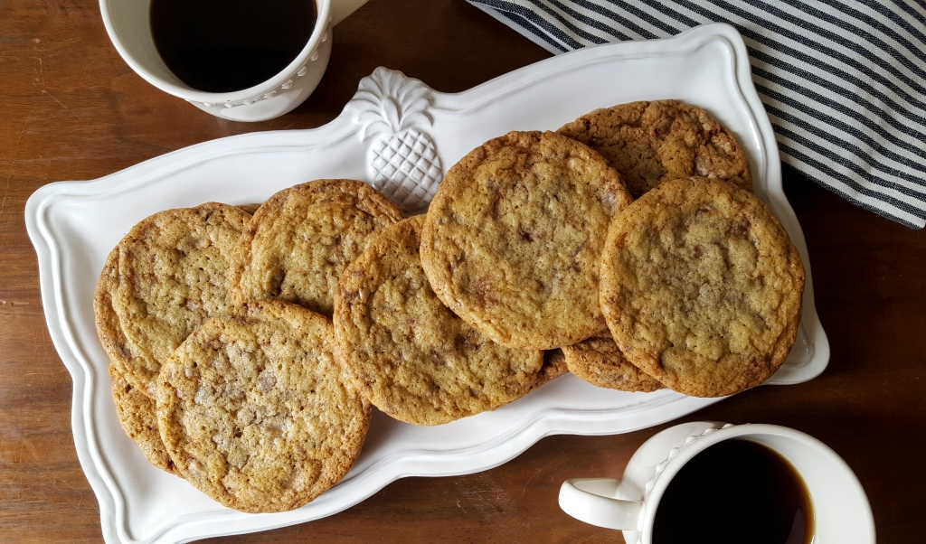 Toffee Cookies from #FaustBakes