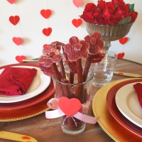 How To: Beef Jerky Bouquet & Valentine Napkin Fold
