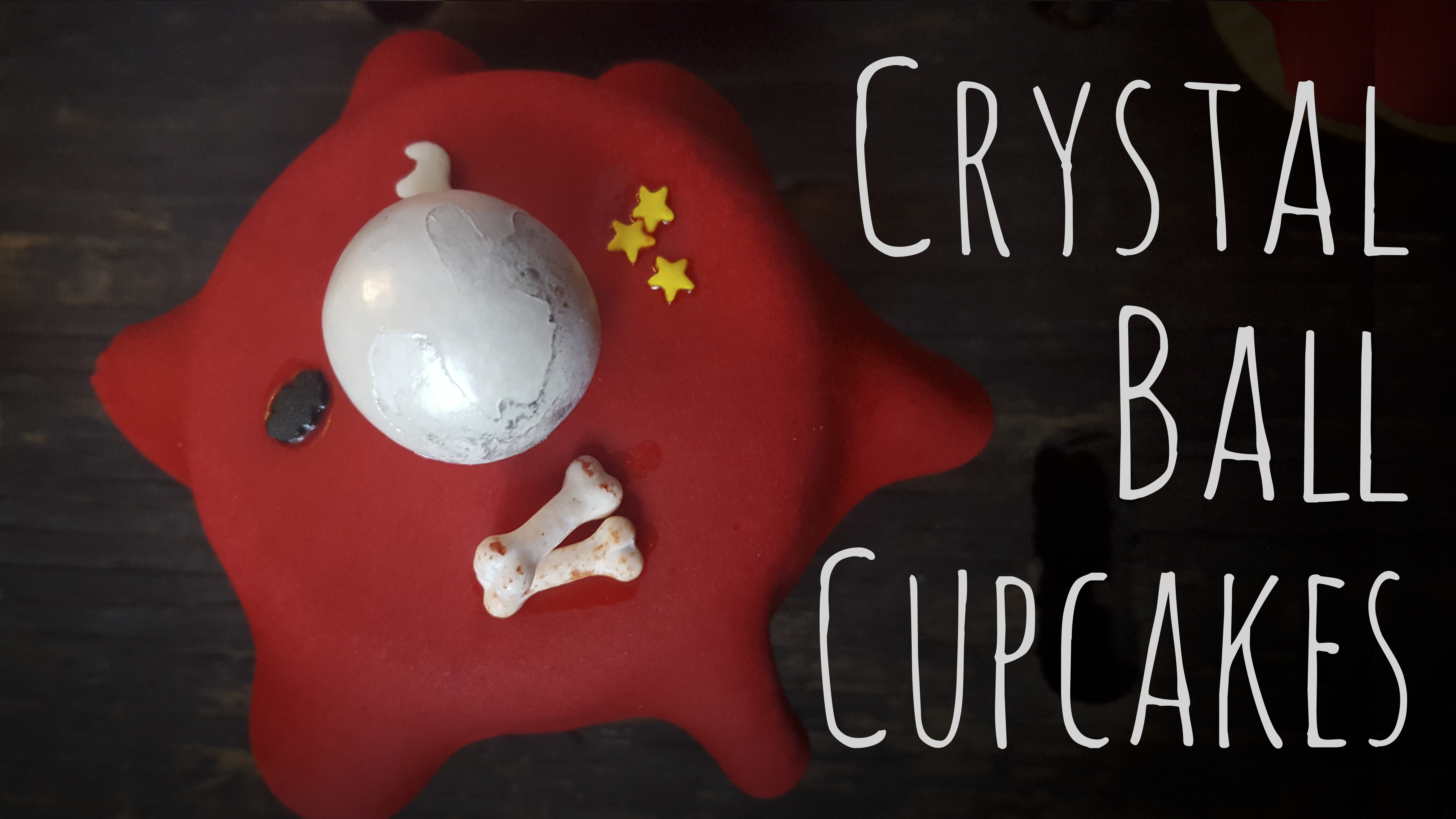 Learn how to make crystal ball cupcakes just in time for Halloween
