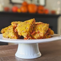 Pumpkin and White Cheddar Scones